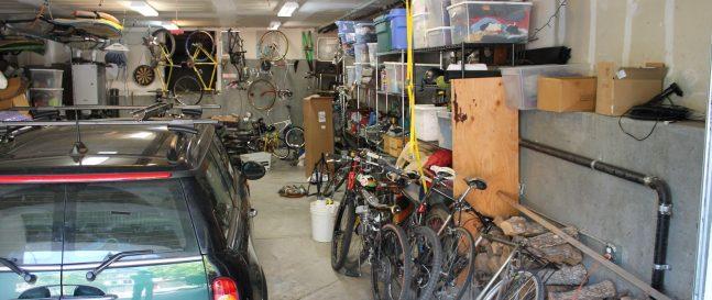 Neporiadok v garáži
