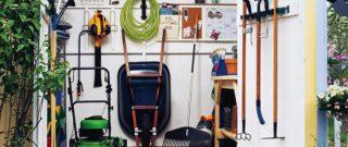 Ako si zorganizovať záhradný domček?