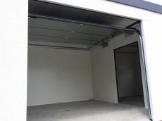 Vnútro montovaného zatepleného skladu
