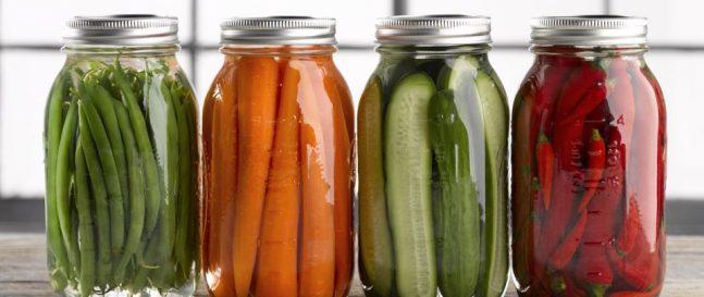 Zavarená mrkva, uhroka, paprika a zelená fazuľka