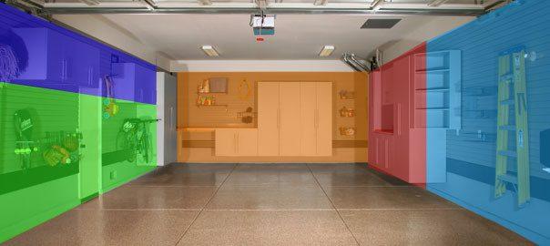Ako maximalizovať organizáciu garáže? Týchto 5 zón by ste mali poznať