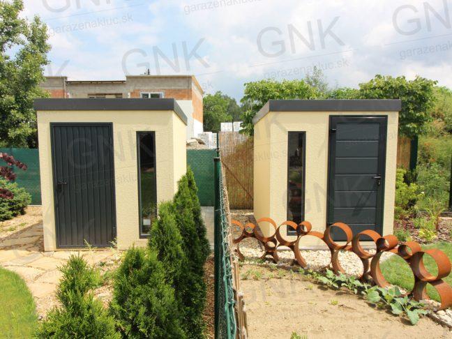 Záhradné domčeky na náradie s antracitovou strechou