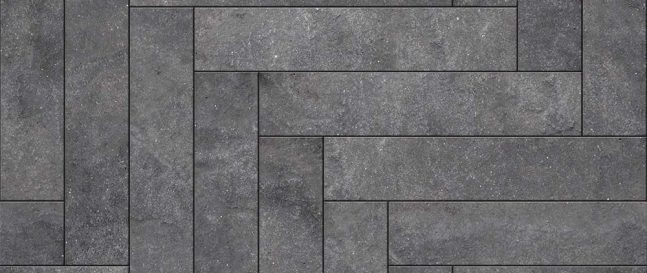 Kamenná podlaha v obdĺžnikovom tvare