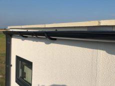 Izolovaná strecha z thermopanelu na garáži