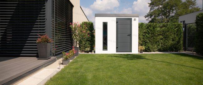 Inšpiratívne záhradky našich zákazníkov (1. časť) – montované záhradné domčeky