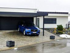 Moderný prístrešok SIEBAU pre dve autá