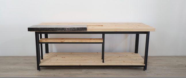 Moderný drevený ponk