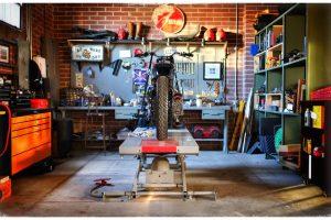 Ako vytuningovať garáž pre vašu motorku