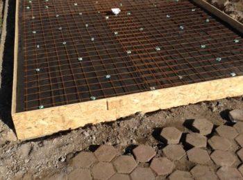 Karirohoň na betónovú platňu