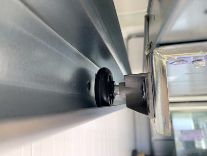 Koľajnica garážovej brány Hormann