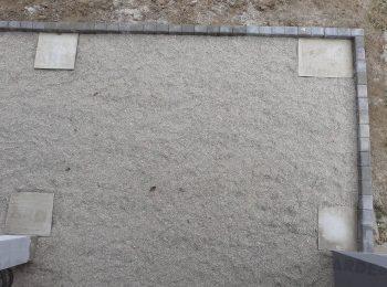 Betónové pätky v štrkovom lôžku