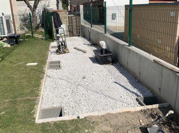 Podklad pod montovaný záhradný domček GARDEON