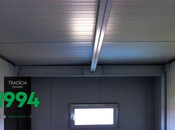 Vnútro atypickej garáže