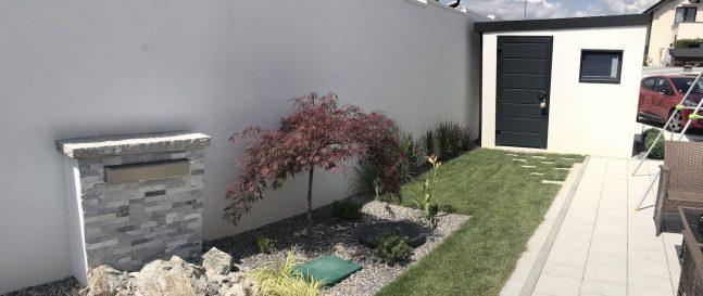 Záhradka so záhradným domčekom